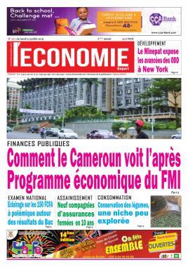 Le Quotidien de l'Economie - 22/07/2019