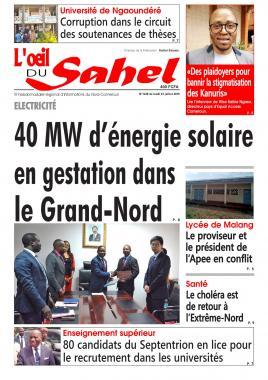 L'oeil du Sahel - 15/07/2019