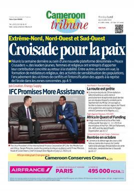 Cameroon Tribune - 15/07/2019