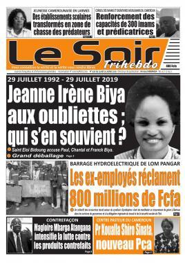Le Soir - 29/07/2019