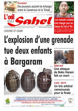 L'oeil du Sahel - 19/07/2019
