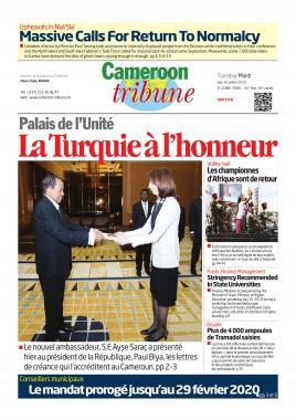 Cameroon Tribune - 16/07/2019