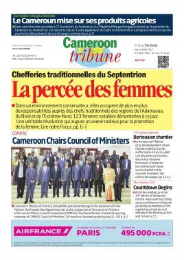 Cameroon Tribune - 12/07/2019