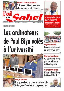 L'oeil du Sahel - 22/07/2019