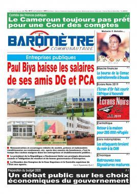 Baromètre - 03/07/2019
