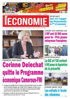 Le Quotidien de l'Economie - 19/07/2019