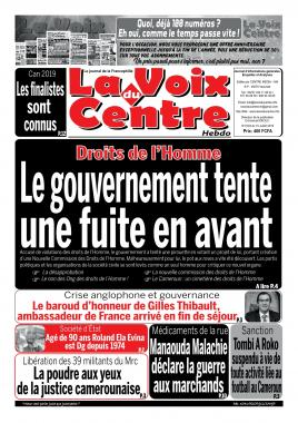 LA VOIX DU CENTRE - 15/07/2019