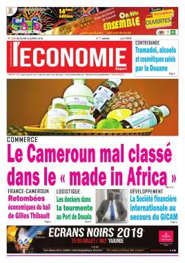 Le Quotidien de l'Economie - 15/07/2019