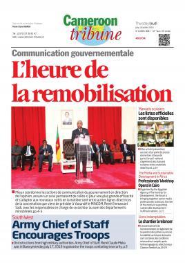 Cameroon Tribune - 18/07/2019