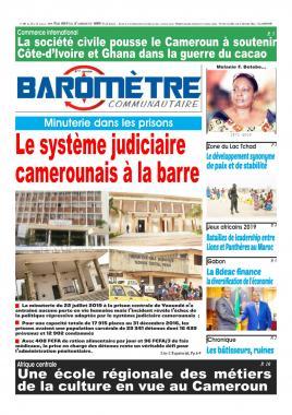 Baromètre - 25/07/2019