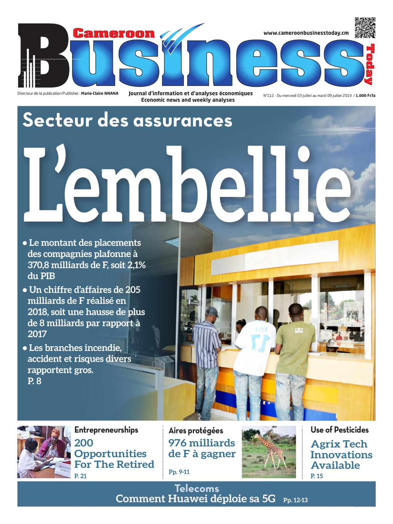 Cameroon Businness Today - 03/07/2019