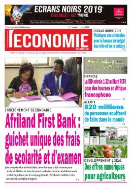 Le Quotidien de l'Economie - 18/07/2019