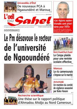 L'oeil du Sahel - 12/07/2019