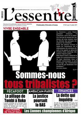 L'essentiel du Cameroun - 15/07/2019