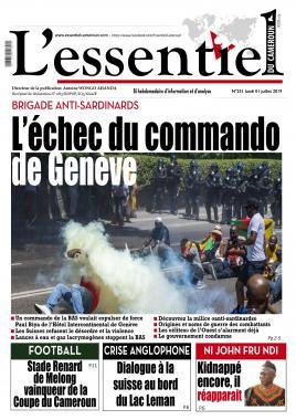 L'essentiel du Cameroun - 01/07/2019