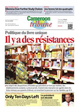 Cameroon Tribune - 20/08/2019