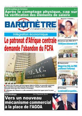 Baromètre - 02/08/2019