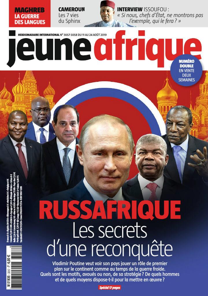 Jeune Afrique - 12/08/2019