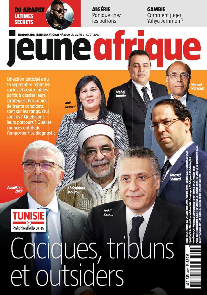 Jeune Afrique - 26/08/2019