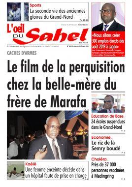 L'oeil du Sahel - 07/08/2019