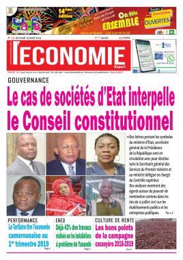 Le Quotidien de l'Economie - 19/08/2019