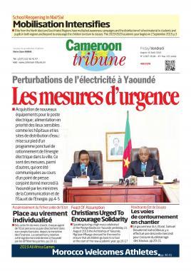 Cameroon Tribune - 16/08/2019
