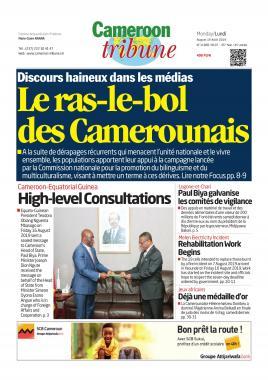 Cameroon Tribune - 19/08/2019