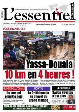 L'essentiel du Cameroun - 05/08/2019