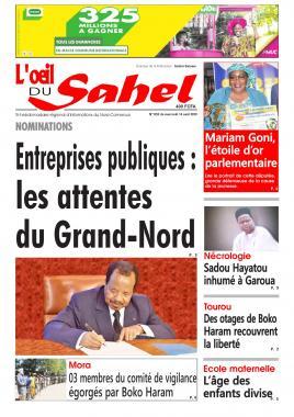 L'oeil du Sahel - 14/08/2019