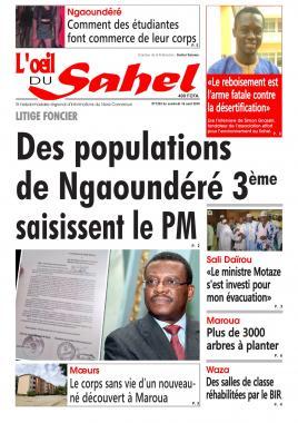 L'oeil du Sahel - 16/08/2019