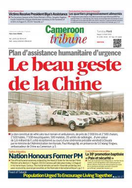 Cameroon Tribune - 13/08/2019