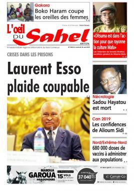 L'oeil du Sahel - 02/08/2019