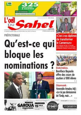 L'oeil du Sahel - 05/08/2019
