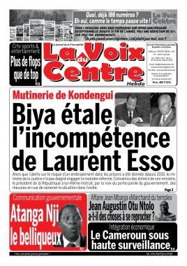 LA VOIX DU CENTRE - 05/08/2019