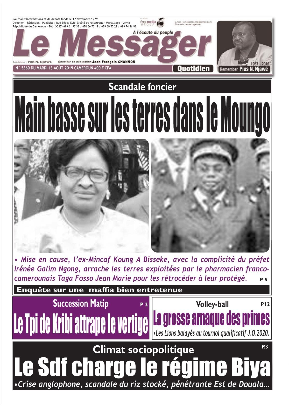 Le Messager - 13/08/2019