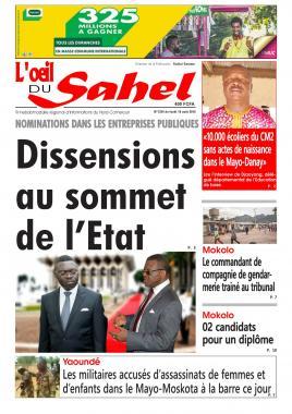L'oeil du Sahel - 19/08/2019