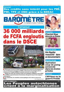 Baromètre - 08/08/2019