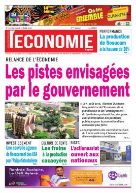 Le Quotidien de l'Economie - 13/08/2019