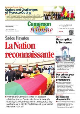 Cameroon Tribune - 14/08/2019