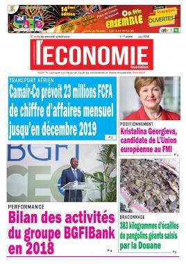 Le Quotidien de l'Economie - 14/08/2019