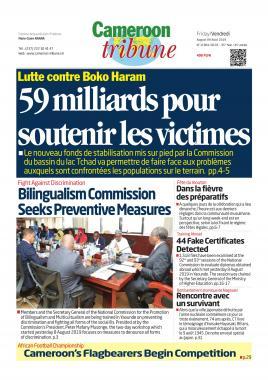 Cameroon Tribune - 09/08/2019