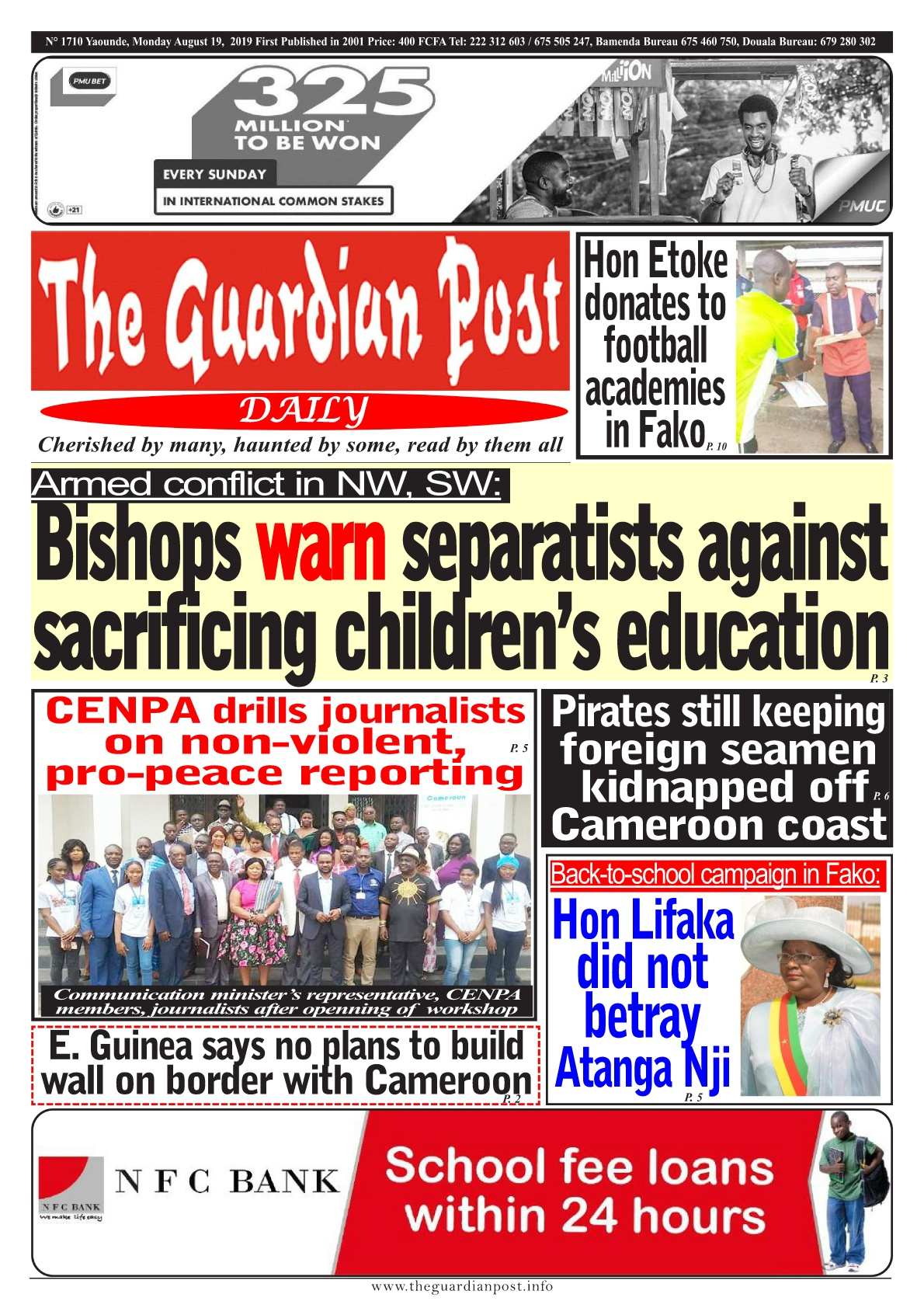 The Guardian Post - 19/08/2019