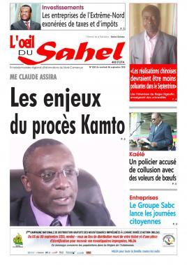 L'oeil du Sahel - 06/09/2019