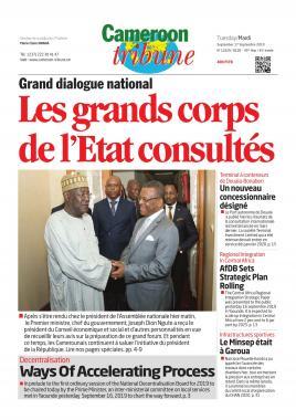Cameroon Tribune - 17/09/2019