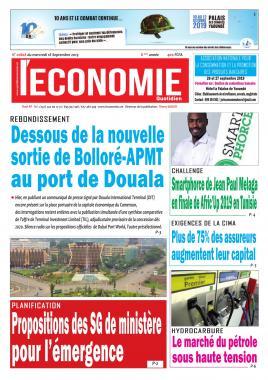 Le Quotidien de l'Economie - 18/09/2019