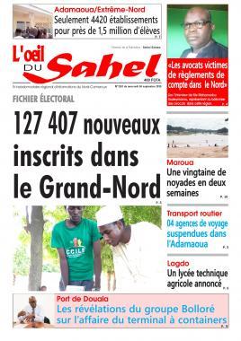 L'oeil du Sahel - 04/09/2019