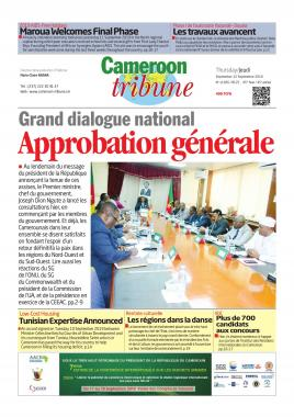 Cameroon Tribune - 12/09/2019