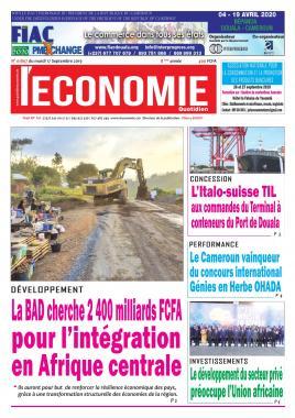Le Quotidien de l'Economie - 17/09/2019