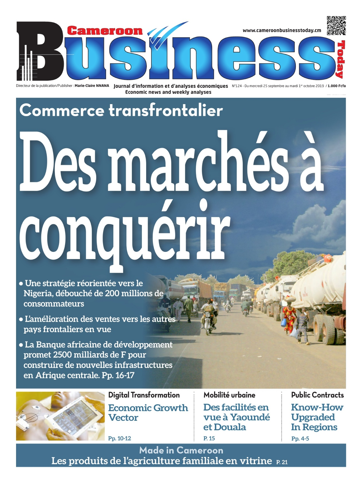 Cameroon Business - 25/09/2019