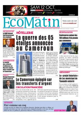 Ecomatin - 16/09/2019